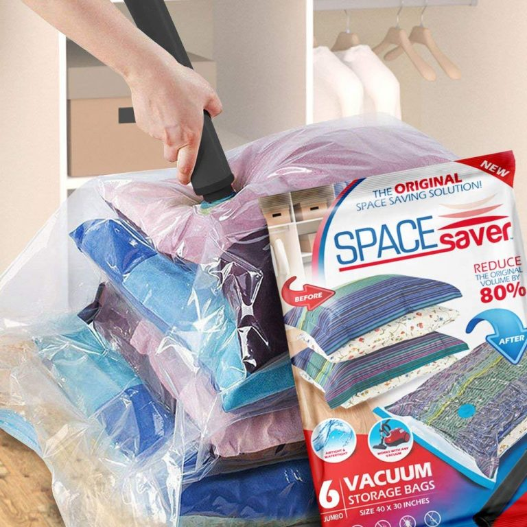 Best Vacuum Storage Bags For Clothes Blankets Reviews