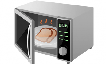 microwave toaster oven cartoon image