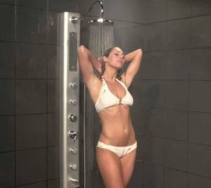 woman shower massage