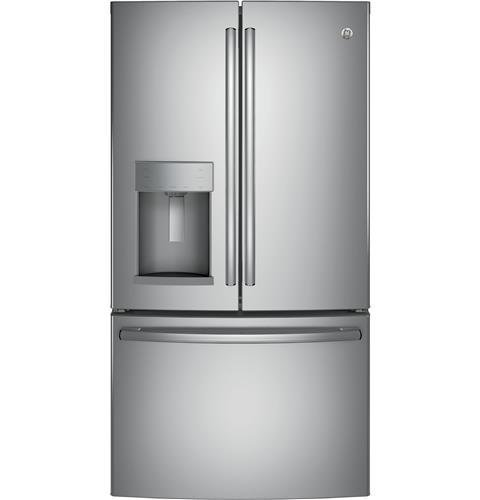 Exceptionnel If You Have A Big Family But A Smaller Space For A Refrigerator Then The GE  27.8 Cu Ft. French Door Refrigerator With Ice Maker Is Perfect For The  Growing ...