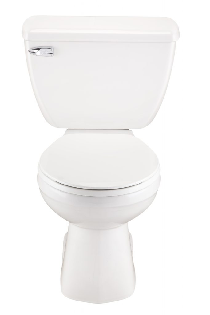 Gerber GHE20302 Ultra Flush 1.8 GPF Two-Piece Round Front Toilet