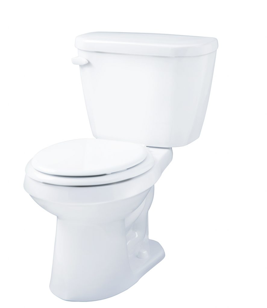Gerber GWS21502 Viper 1.28 GPF Two-Piece Round Front Toilet