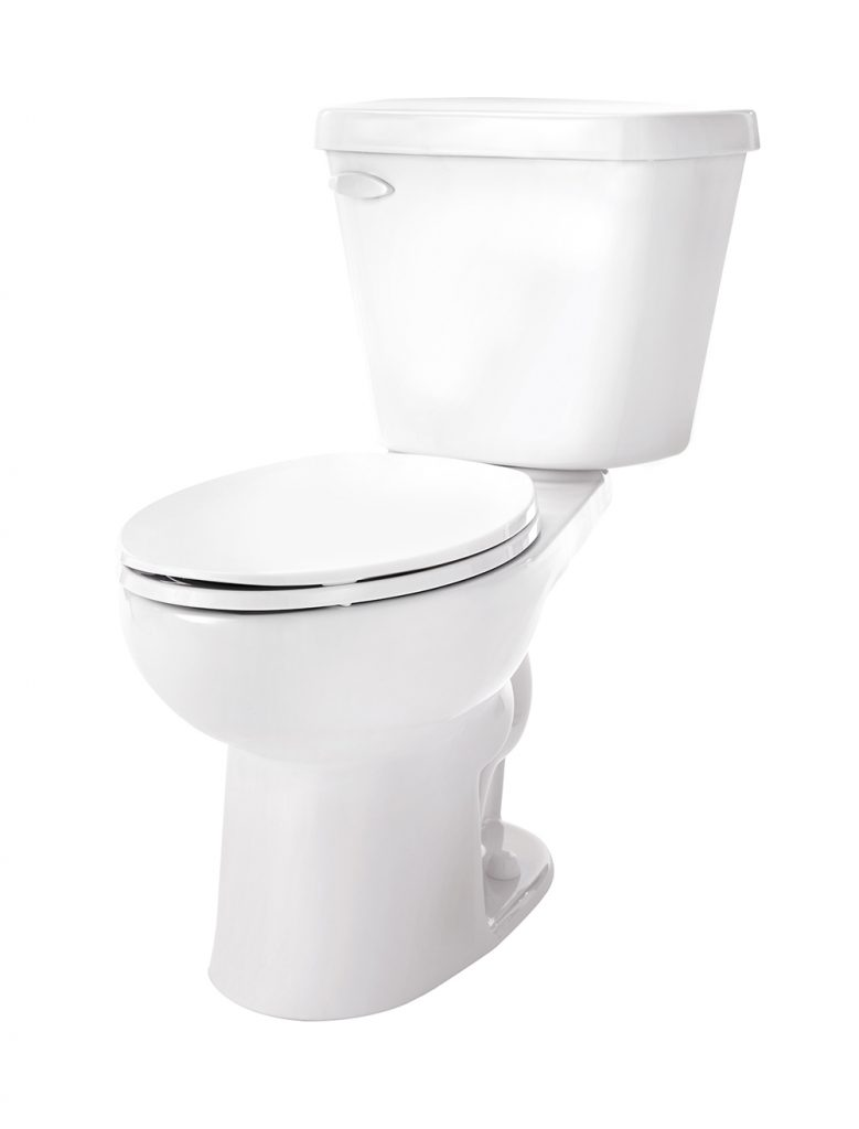 Gerber Viper 1.0 GPF Two-Piece Elongated ErgoHeight Toilet