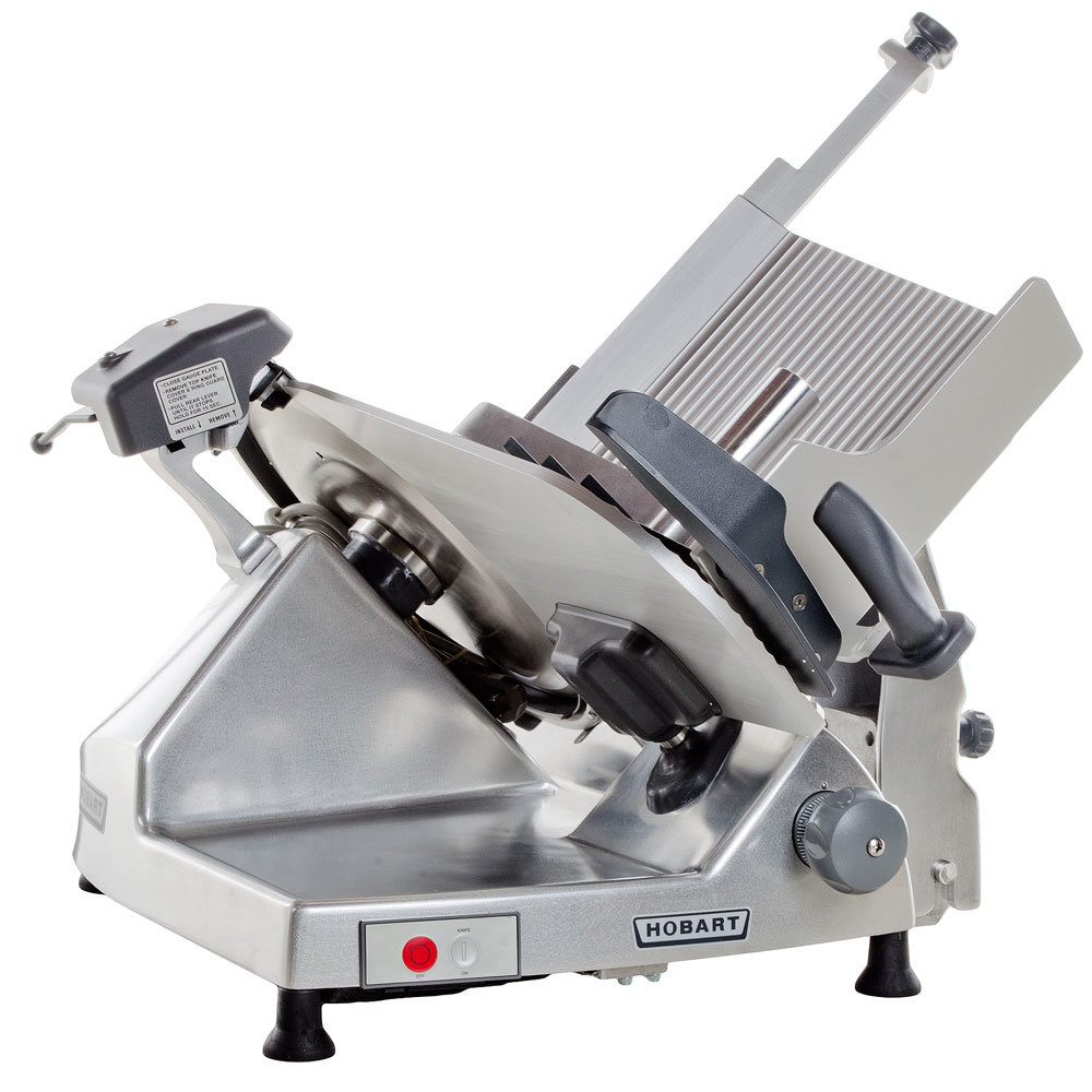 Hobart HS6-1 13'' Manual Slicer with Removable Knife