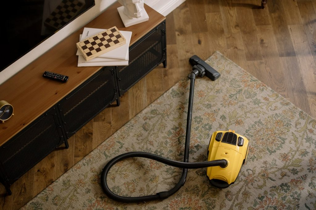 vacuum cleaner helps with asthma