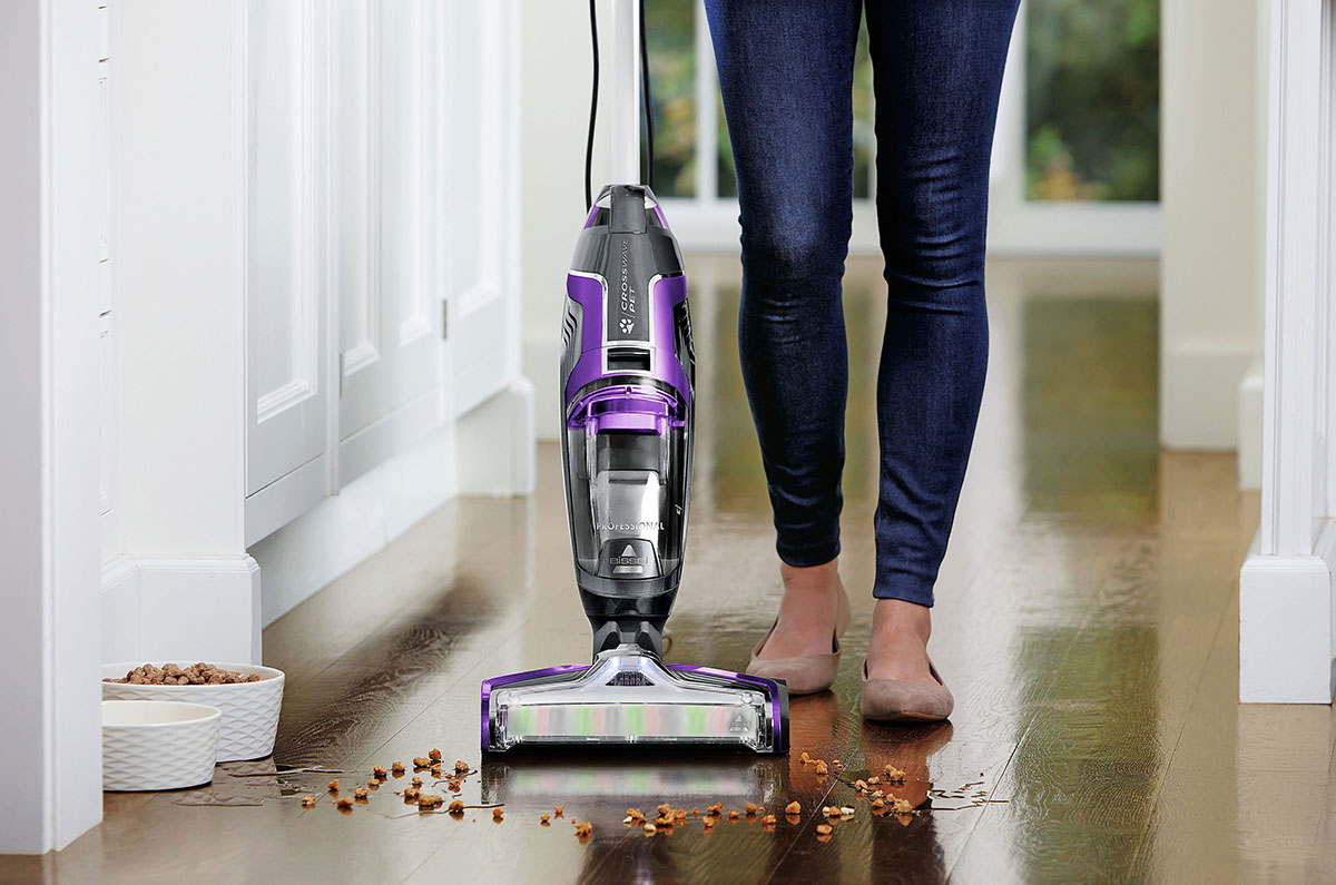 Vacuum & Mop at the Same Time!
