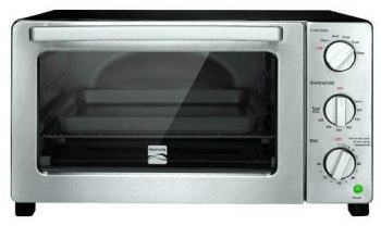 Kenmore 4806 6-Slice Convection Toaster Oven, Stainless Steel